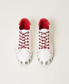 Sneakers con logotipo Blanco Mujer 202LIPZCC-05
