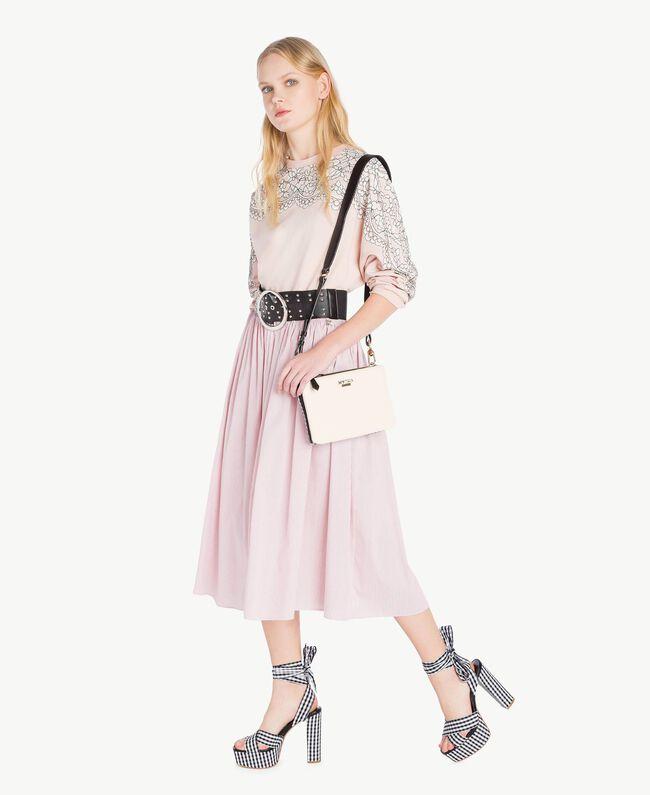 Lace sweatshirt Quartz Pink Woman JS82H1-05