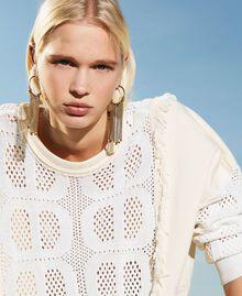 Boucles d'oreilles avec franges Or «Laiton Vieilli Cuivré» Femme 211TO501E-0S