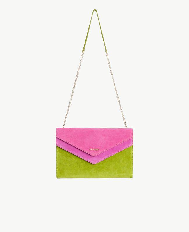 TWINSET Sac à bandoulière rabat Multicolore Kiwi / Rose Provocateur / Fuchsia Femme OS8TDP-01