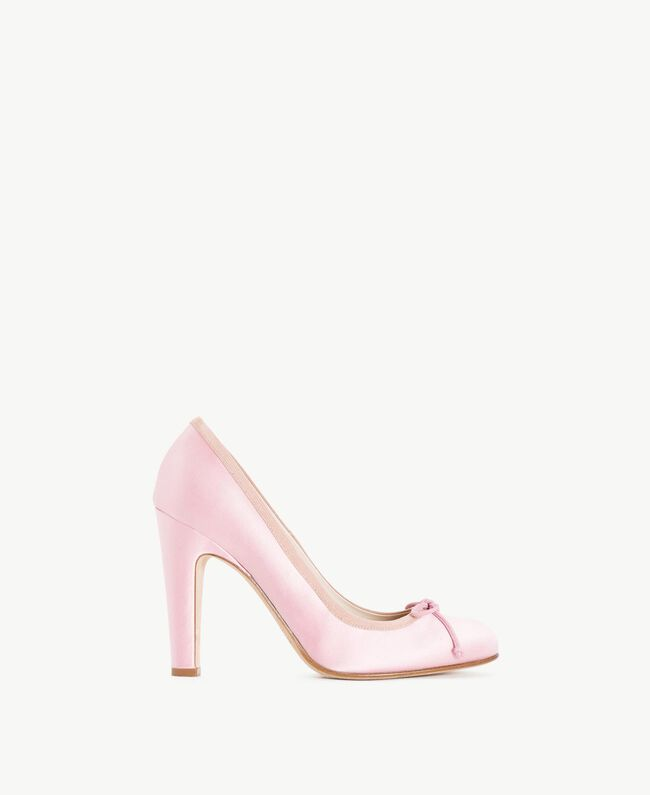 "TWINSET Satin court shoes ""Doll"" Fuchsia Woman CS8PGL-01"