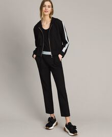 Drainpipe trousers Black Woman 191LL25AA-02