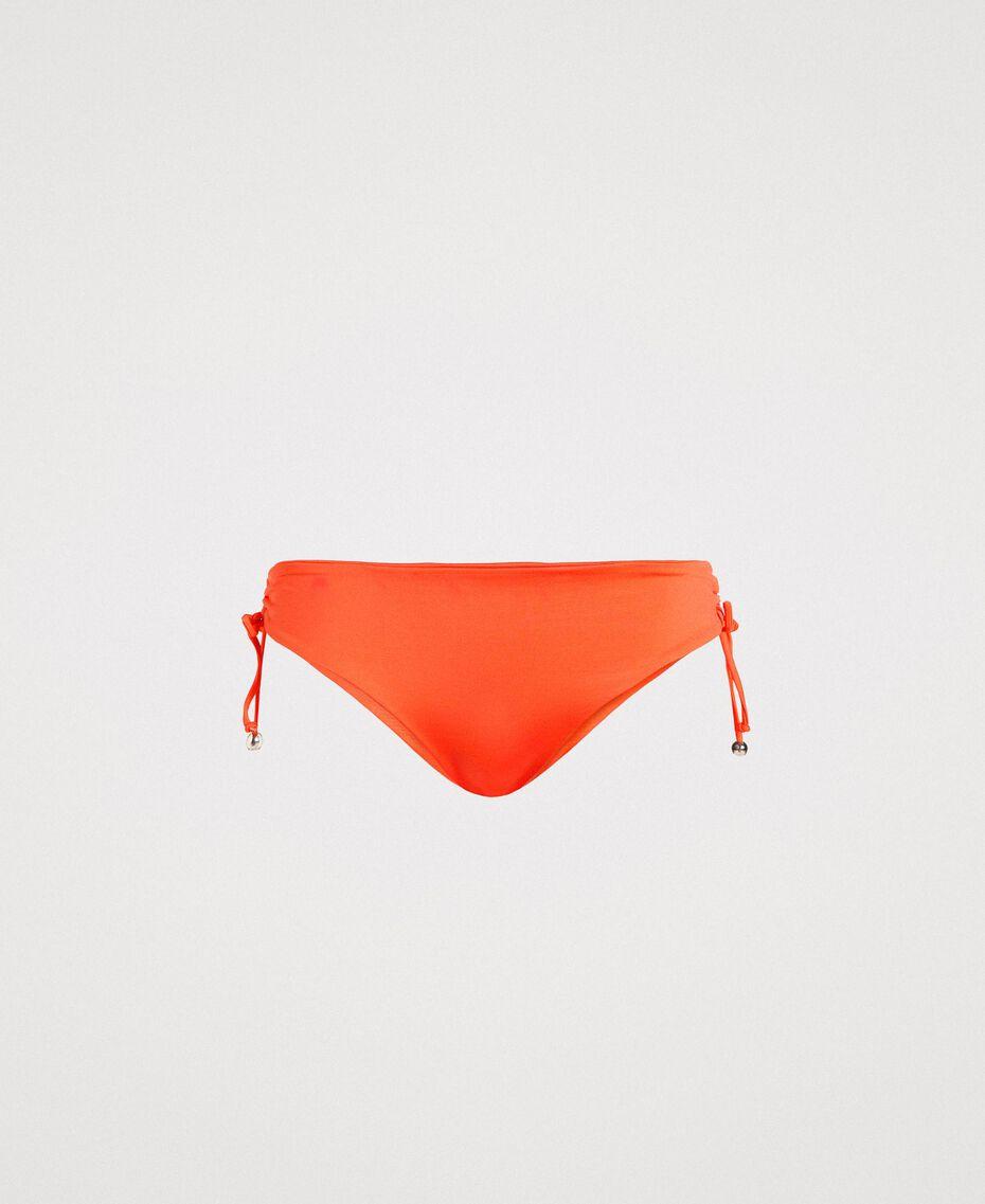 """Bas de bikini uni avec cordon coulissant """"Jus d'Orange"""" Femme 191LMMG99-01"""