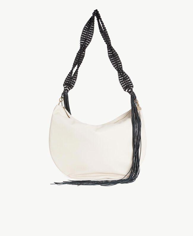 TWINSET Hobo-Tasche mit Fransen Dune Frau OS8TDA-01
