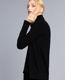 Wool and cashmere jumper Black Woman TA83AC-04