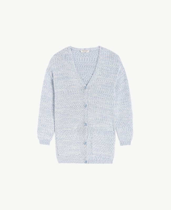 Cardigan long Bleu Infini Enfant GS83CB-01