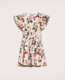 "Printed poplin dress ""Savannah"" Pink Print Child 201GJ2330-0S"