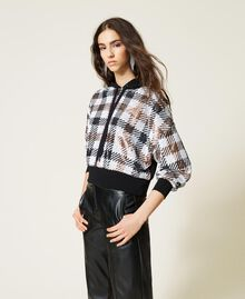 Felpa check in full paillettes Check Full Paillettes Donna 212AP2510-04