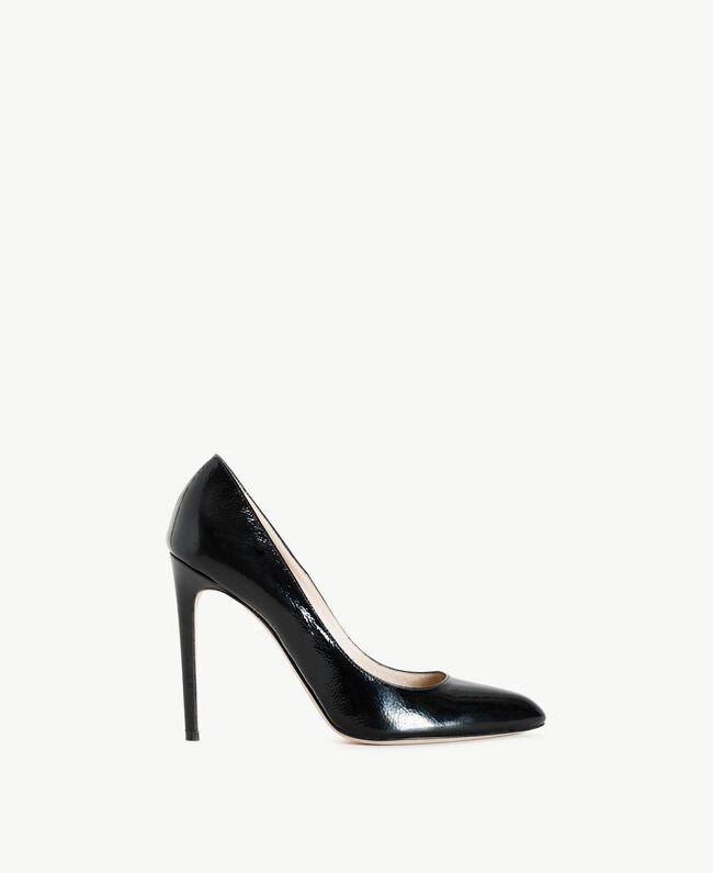TWINSET Patent leather court shoes Black Woman CS8PLA-01