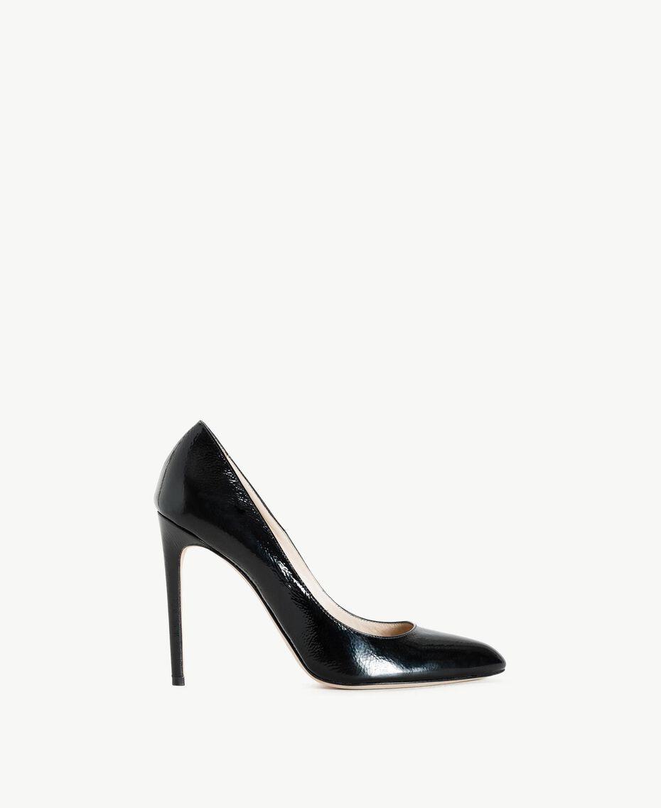 TWINSET Escarpins vernis Noir Femme CS8PLA-01