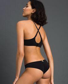 slip brésilien Noir Femme LCNN77-03