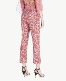 "Printed flared trousers ""Hippie Arabesque"" Print Woman TS82X3-03"