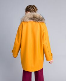 Manteau oversize en drap avec col Brandy Femme PA826N-03