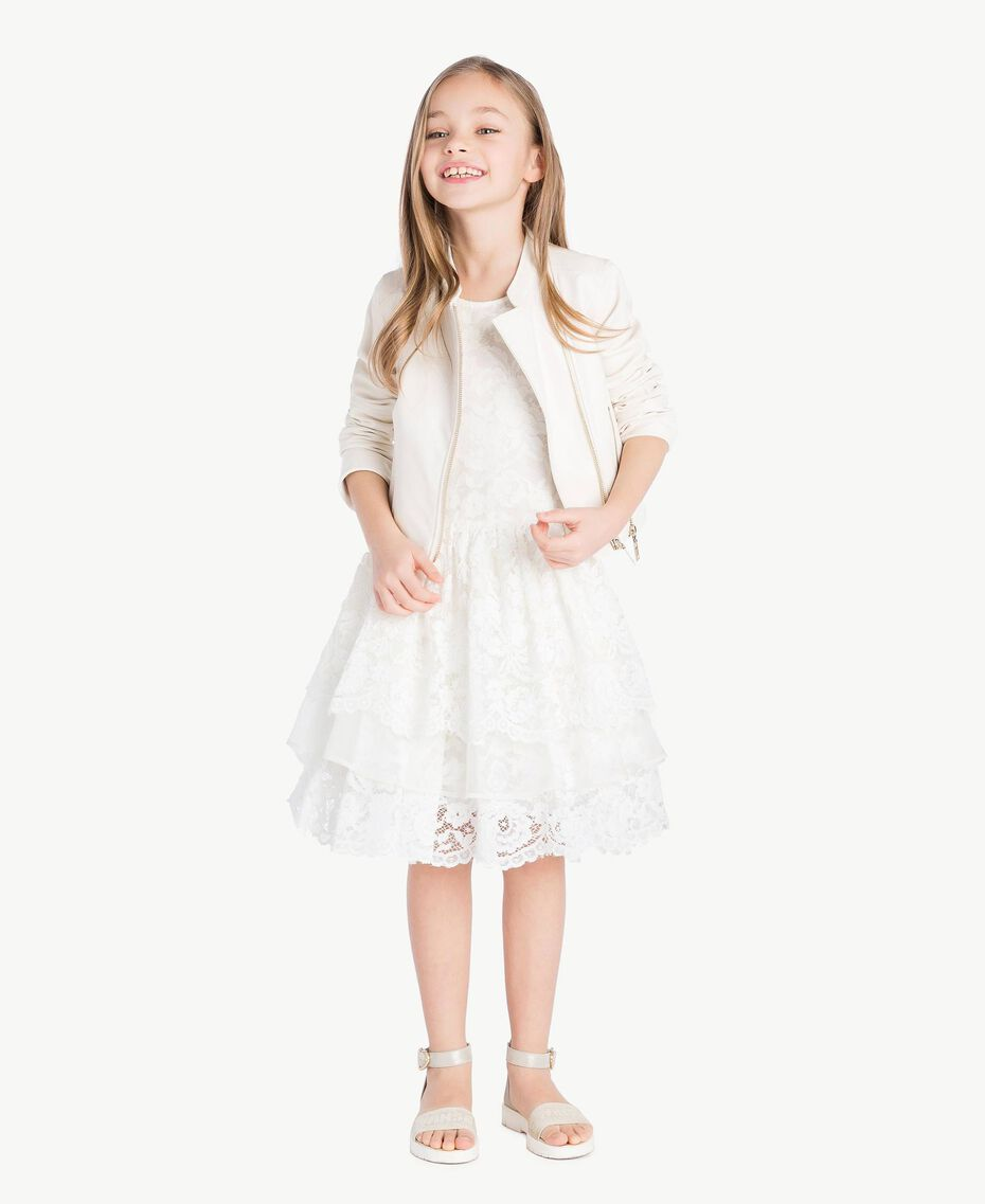 Robe soie Chantilly Enfant GS8LD1-06