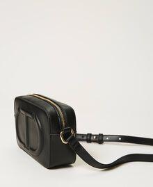 Shoulder bag with logo Black Woman 211TD8081-05