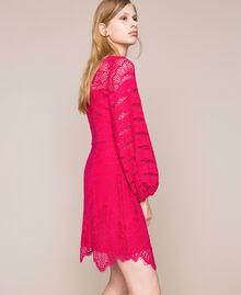 Robe en dentelle macramé Griotte Femme 201TP2031-03