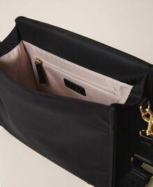Satin Twinset Bag shoulder bag Black Woman 202TB7203-05
