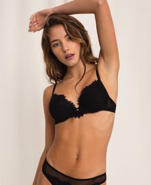 Push-up in pizzo Nero Donna 201LL6244-01
