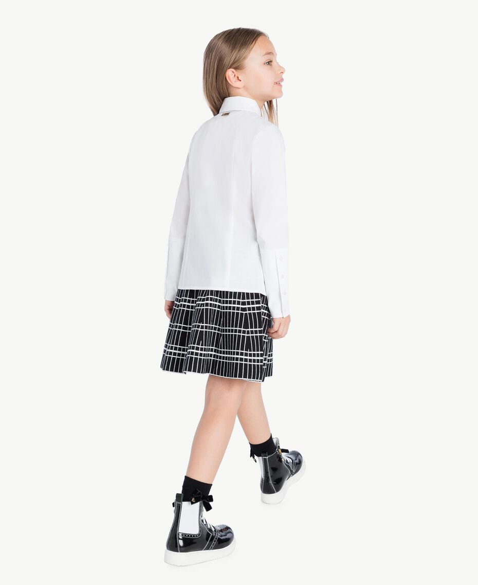Poplin shirt White GA72TA-03