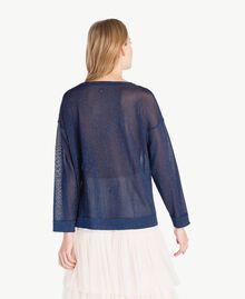 Pull lurex Bleu Roi Lurex Femme PS83Y1-03