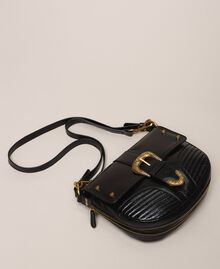 Large Rebel shoulder bag Black Woman 201TA723J-01