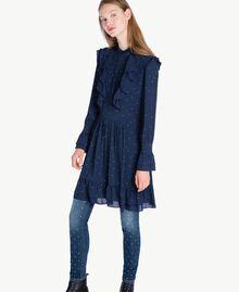 Jean skinny strass Bleu Denim JA72S4-06