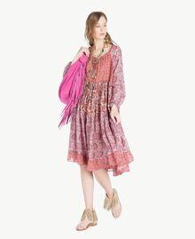 Robe imprimée Imprimé Mélangé Cachemire Femme TS82XB-05