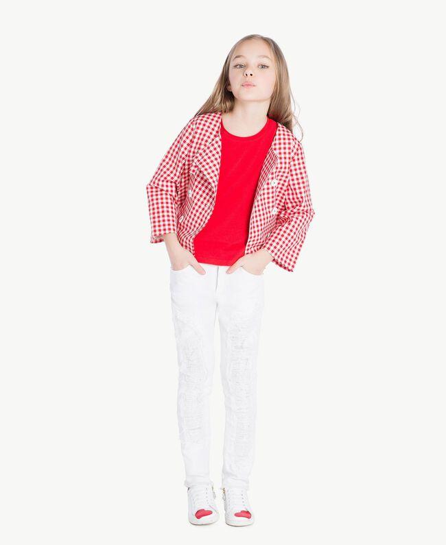 T-shirt jersey Rouge Grenade Enfant GS82BA-05