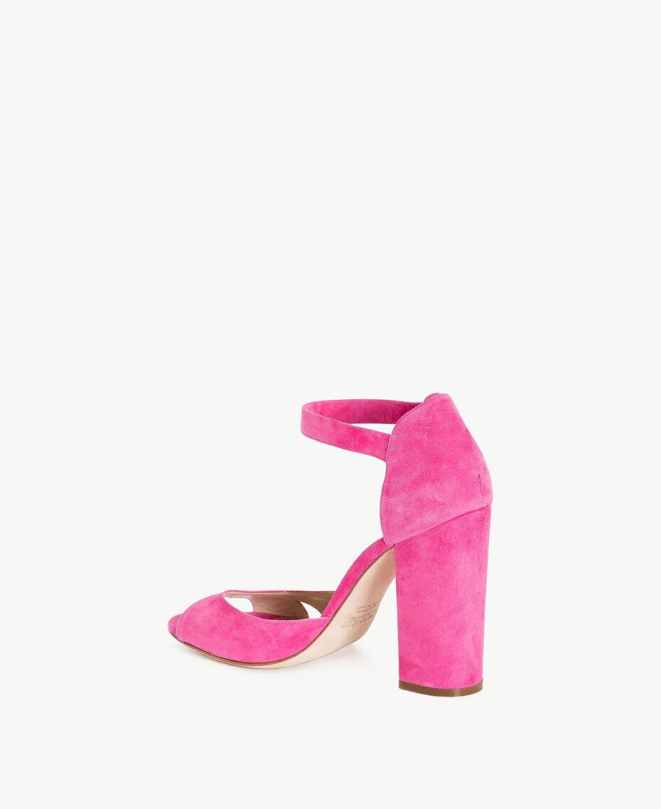 TWINSET Sandales daim Pink Provocateur Femme CS8TDU-03