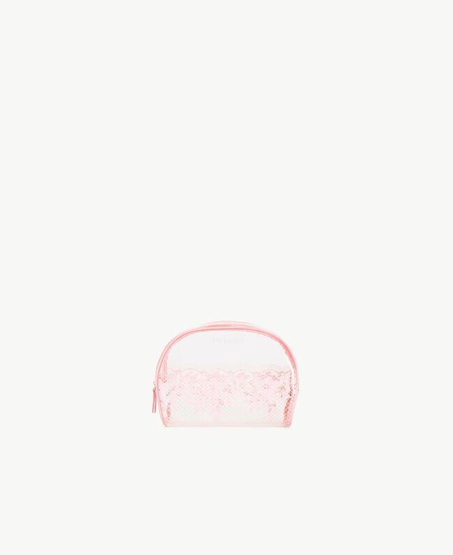 Trousse à maquillage dentelle Bicolore Pinkie Sugar / Rose «Pêche Poudré» Femme LS8AHH-01
