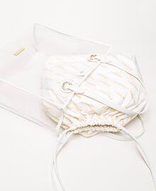 Сумка-шоппер с сумочкой-вкладышем с логотипом Белый женщина 201TA7180-02