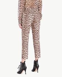 Animal print trousers Animal Print Woman PS824F-03
