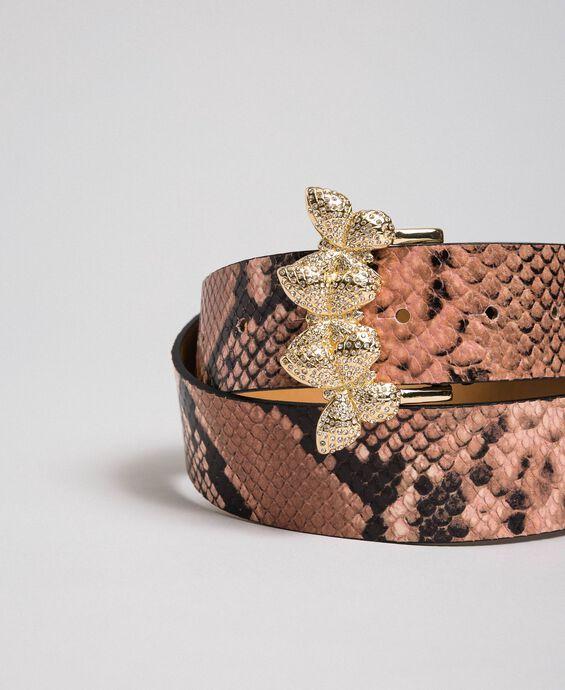 Python print leather belt, regular