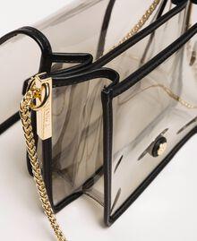 Bea Bag en PVC avec chaîne à bandoulière Gris Femme 201TO8200-05