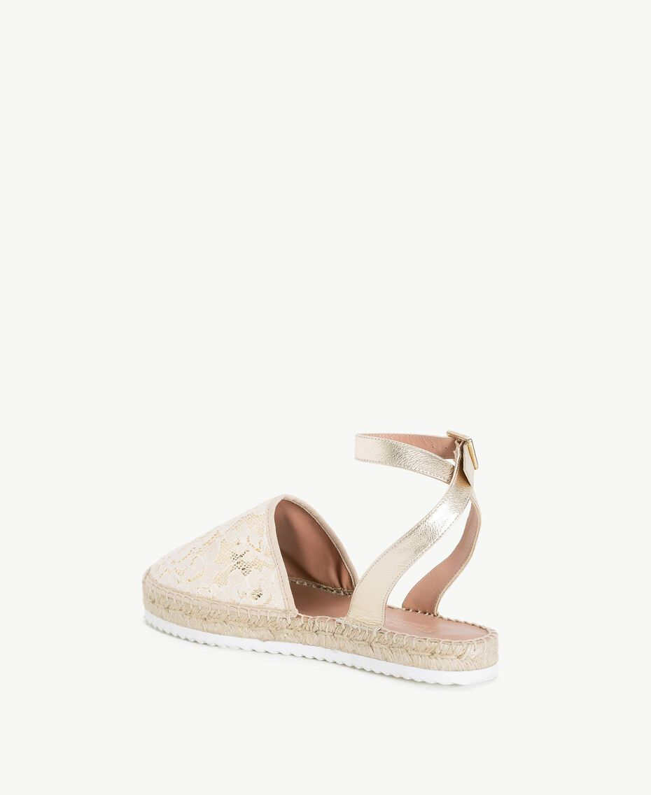 TWINSET Espadrilles dentelle Chantilly Femme CS8TE1-03