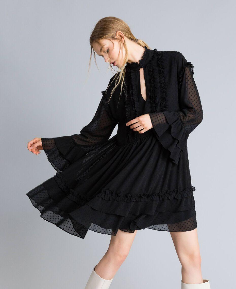 Robe en fil coupé Nacre Femme SA82GA-02