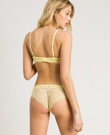 "Padded lace bralette ""Daisy Yellow"" Woman 191LL6B00-03"