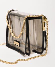 Bea Bag en PVC avec chaîne à bandoulière Gris Femme 201TO8200-04