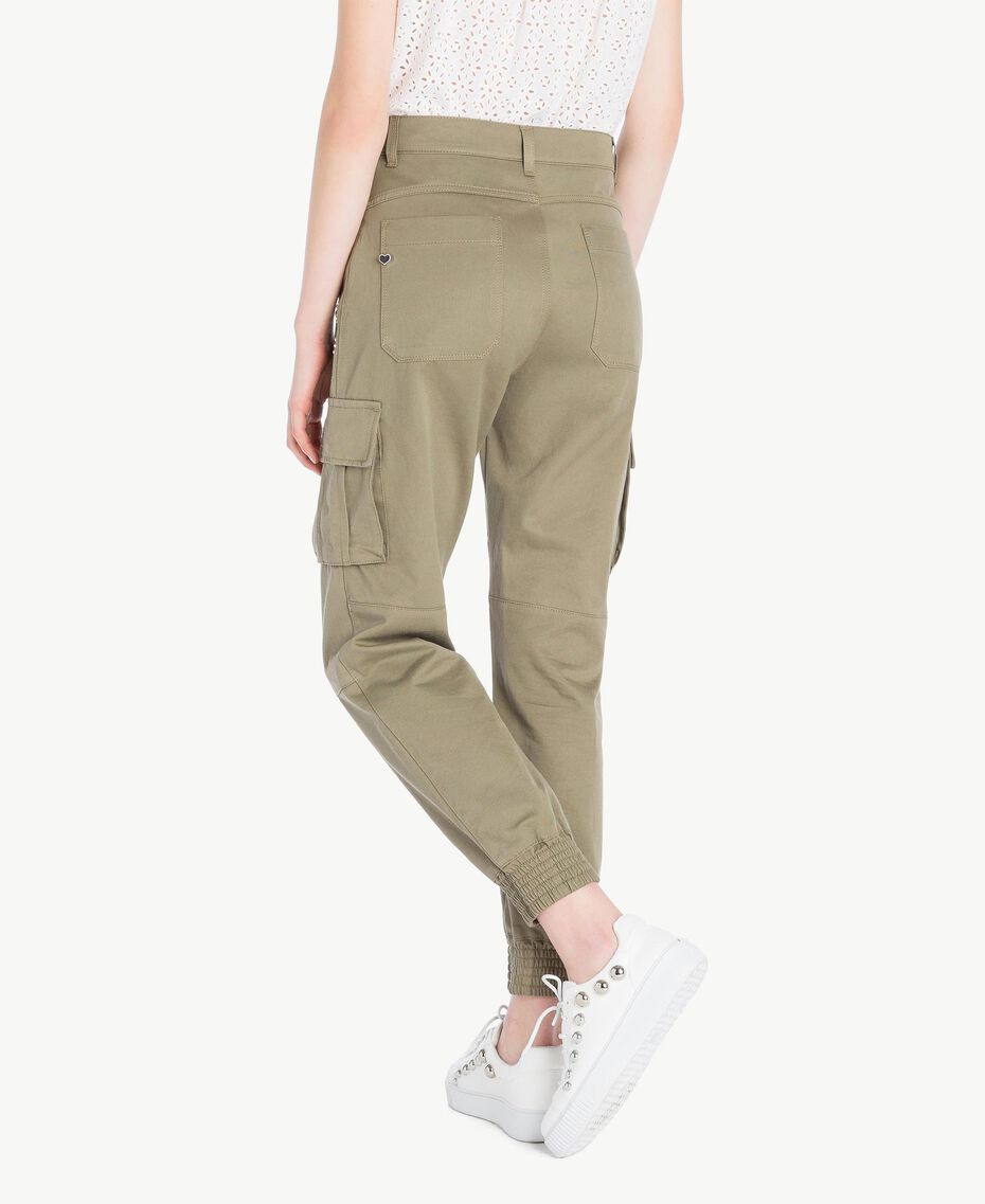 Combat trousers Army Green Woman JS82QH-03
