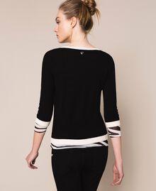 Slim fit jumper Black Woman 201TQ3050-03