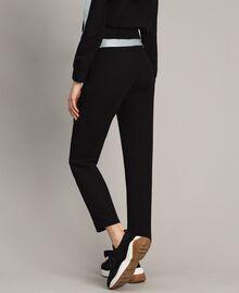 Pantalon cigarette Noir Femme 191LL25AA-04