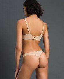 String avec nœud Rose Skin Femme LCNN88-03