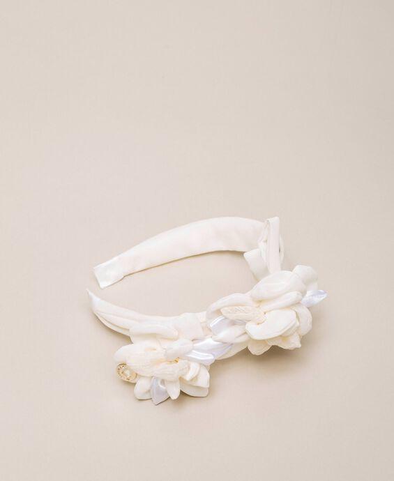 Bandeau avec maxi fleur