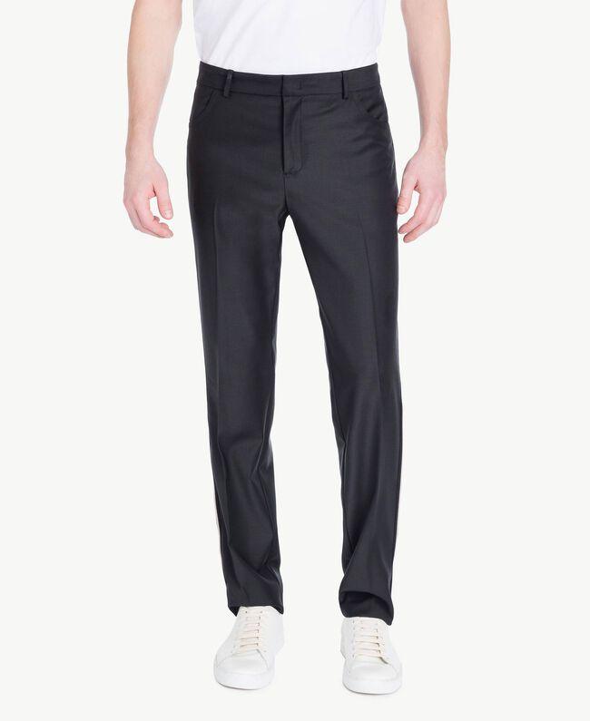 Pantalon cigarette Noir Homme US8241-01