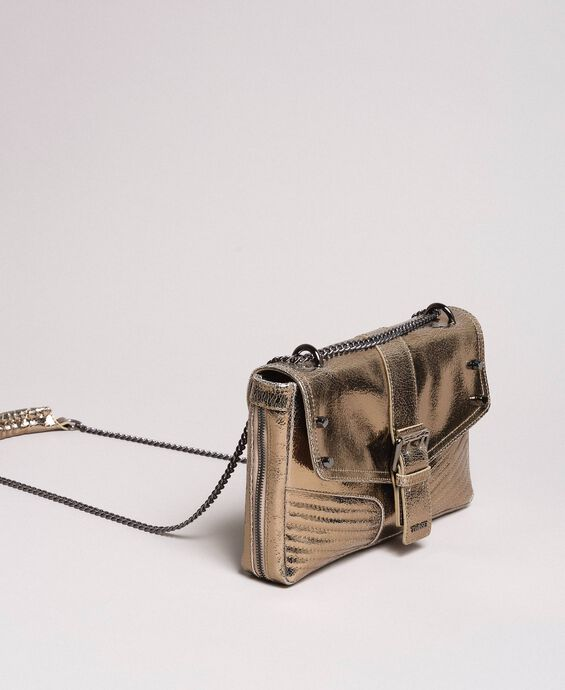 Rebel leather shoulder bag