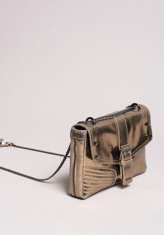 Rebel leather shoulder bag
