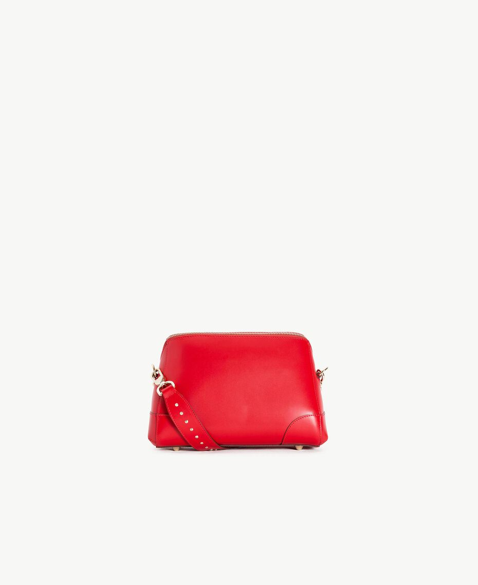 TWINSET Studded shoulder bag Ruby Woman AS8PMA-03