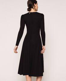 Robe stretch avec ceinture Noir Femme 201ST2141-03