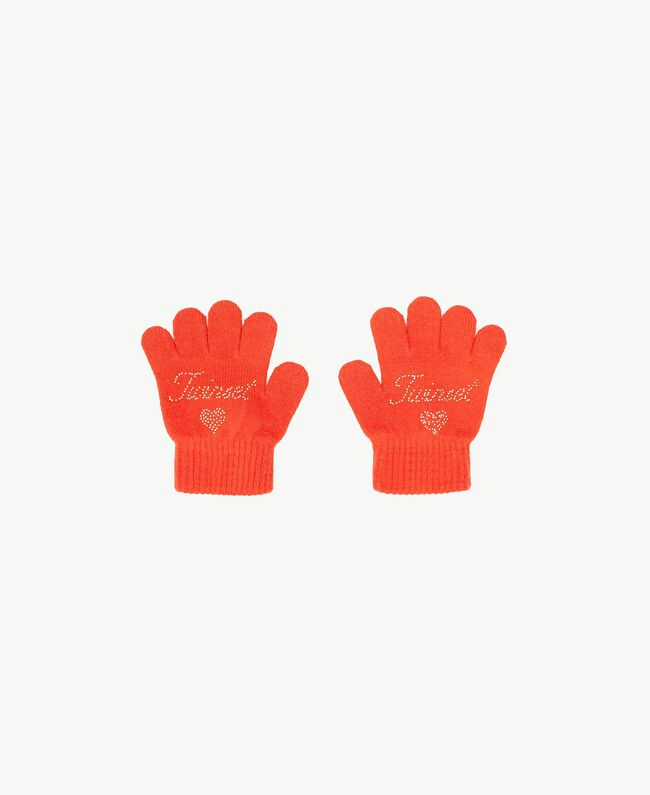 Strickhandschuhe Orange FA7GAC-01