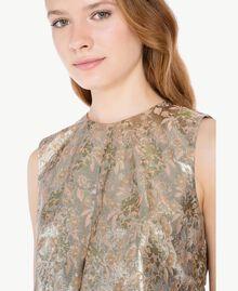 """Kleid aus Jacquard mit Lurex """"Lurex-Jacquard""""-Gold TA723C-04"""
